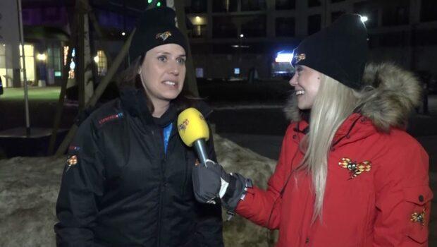Anna Friberg: Ser superlovande ut för skidskyttarna