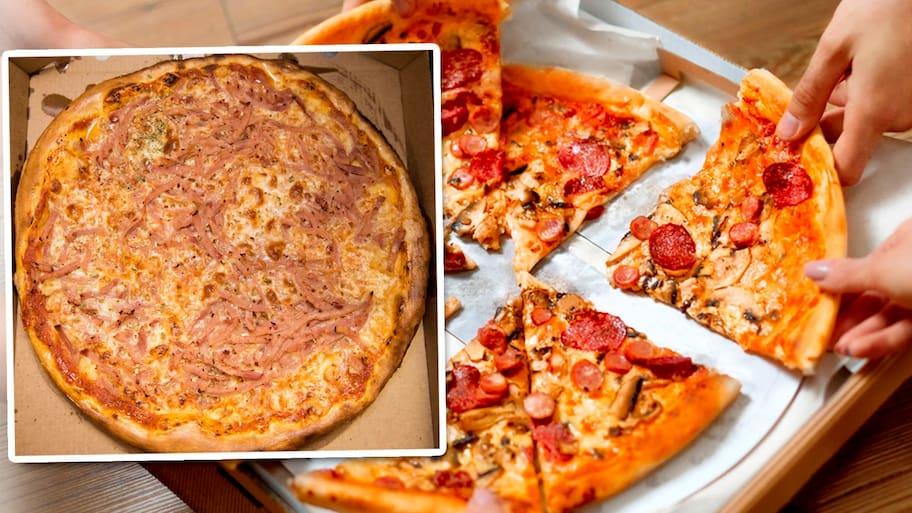 pizzeria barken katrineholm meny