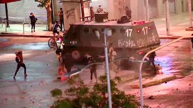 18 döda i Chile – polis anklagas för övervåld