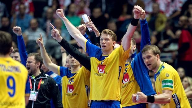 Skrällseger för Sverige mot Kroatien