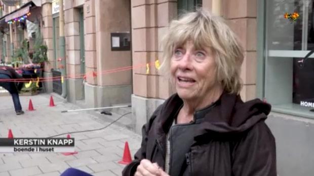 """Kerstin, 76, om detonationen vid Mariatorget: """"Världens brak"""""""