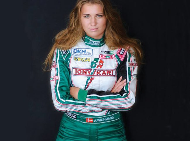 Danskan Amalie Wichmand, 17 år, ska göra debut i Formel STCC.