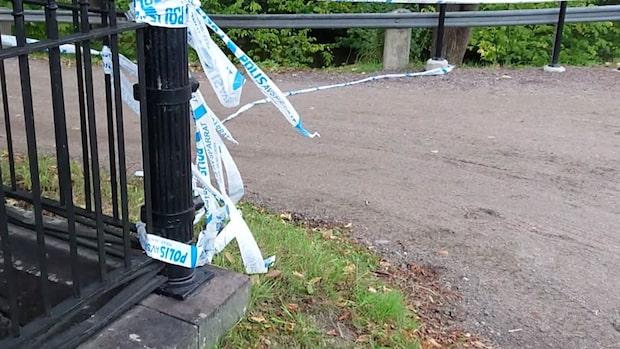 Misstänkt mord vid badplats i Gävle