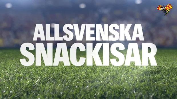 """Snackisen efter allsvenskan: """"Han skrek konstant under 90 minuter"""""""