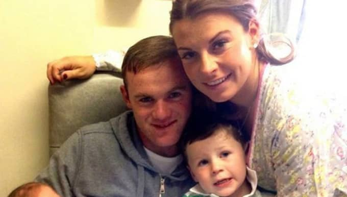 Wayne Rooney tillsammans med Coleen Rooney och sonen Klay Foto: Instagram