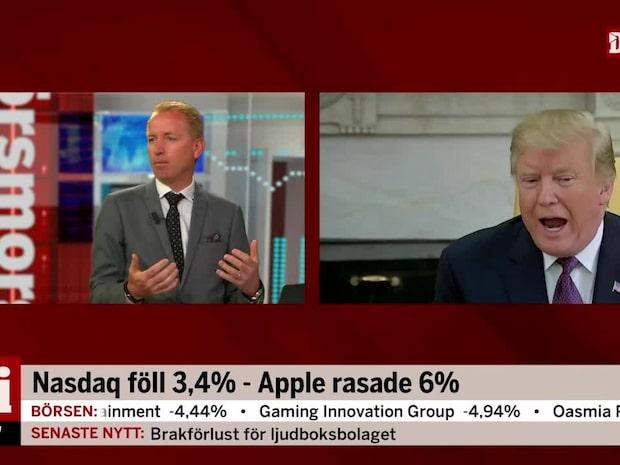 """Handelskriget: """"Om det blir långvarigt kommer det drabba tillväxten"""""""
