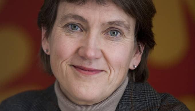 """VILL UPPVÆRDERA HEMARBETET. """"Det som bekymrar mig mest när det gäller jämställdheten i Sverige är att vi i dag inte ser någon uppvärdering av det obetalda hemarbetet"""", skriver Lena Sommestad, professor i ekonomisk historia."""