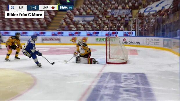 Highlights: Leksand vann med tennissiffror –slog Luleå