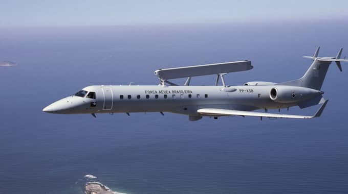 Saab har fått en order från Förenade Arabemiraten på radar- och övervakningssystemet Erieye. Något som nu kritiseras hårt. Foto: Carlos Lorch/Saab