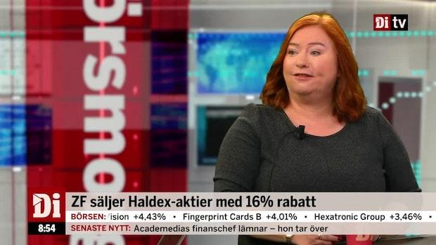 Haldex största ägare säljer 20 procent stort innehav