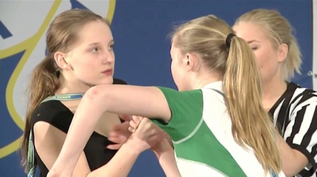 """13-åriga Amanda Kristensson klar för EM: """"Lagom enkelt"""""""