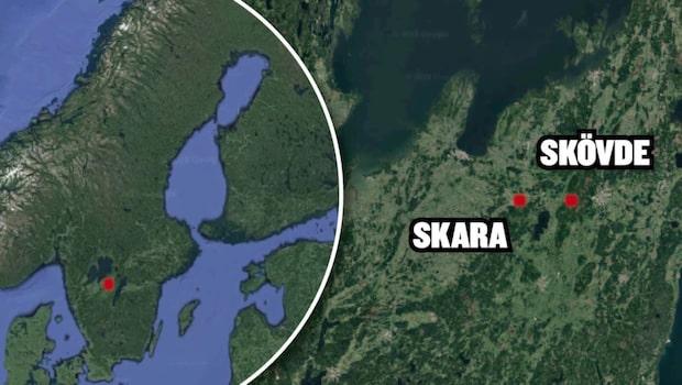 Jordskalv i Skövde och Skara – 3,0 på Richterskalan