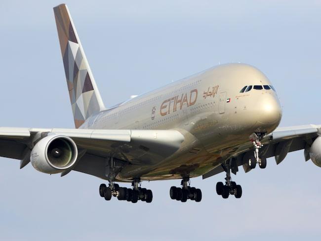 Flygbolaget Etihad Airways är känt för sin lyx och fina service ombord.