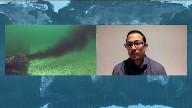 """Federico Moreno: """"30 procent av Östersjön består av döda bottnar"""""""