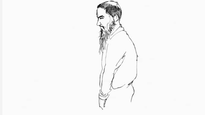 Rättegången mot honom inleddes på tisdagen i Stockholms tingsrätt. Foto: HELEN RASMUSEN
