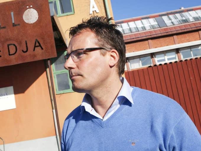 MEDALJDRÖM. Efter Charlotte Kallas VM-succé i Falun – nu drömmer byggentreprenören Ola Serneke om en skidstjärna från Göteborg. Foto: Anders Ylander