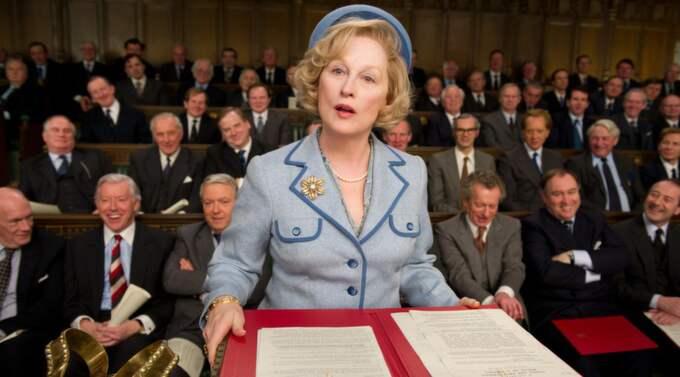 KRIGISK. Den vidd av Thatchers olika ansikten Maryl iklär, kommer troligen att ge henne en Oscar, menar Ronnit. Foto: SCANBOX