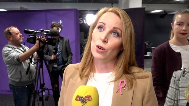 """Annie Lööf om Danius bortgång: """"Väldigt ledsen"""""""