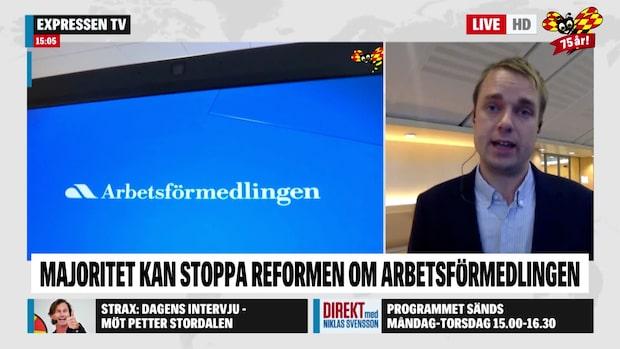 """Tomas Nordenskiöld: """"Oppositionen är väldigt splittrad"""""""