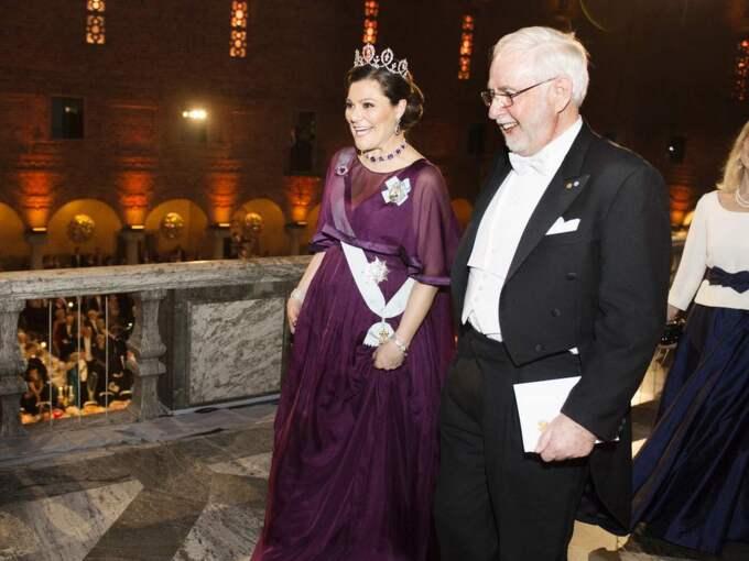 Även den gravida kronprinsessan lämnade tidigare. Foto: Anna-Karin Nilsson