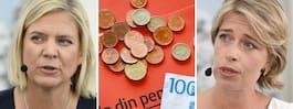 Förvirring kring S nya utspel om pensionerna