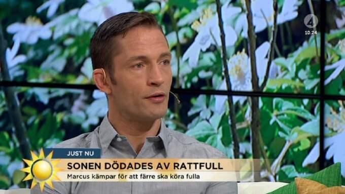 Marcus Kowal i Nyhetsmorgon Foto: / TV4