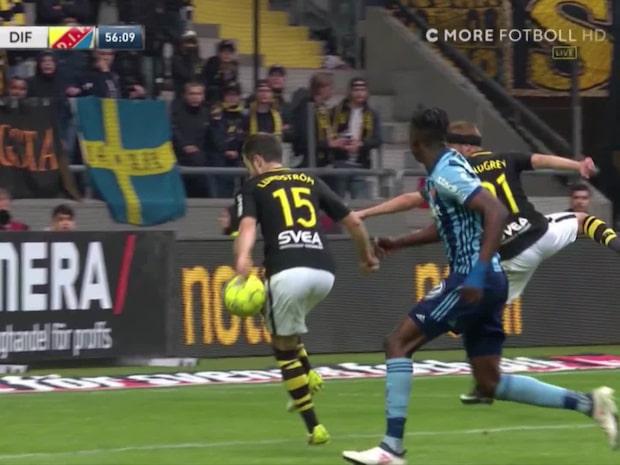 Höjdpunkter: Se Djurgårdens två straffsituationer mot AIK