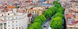 Bokningar till Barcelona rasar efter oroligheterna