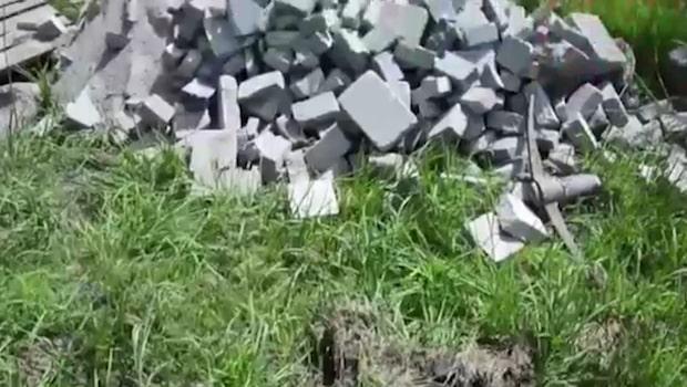 Brittiska asfaltsläggare härjar på Västkusten