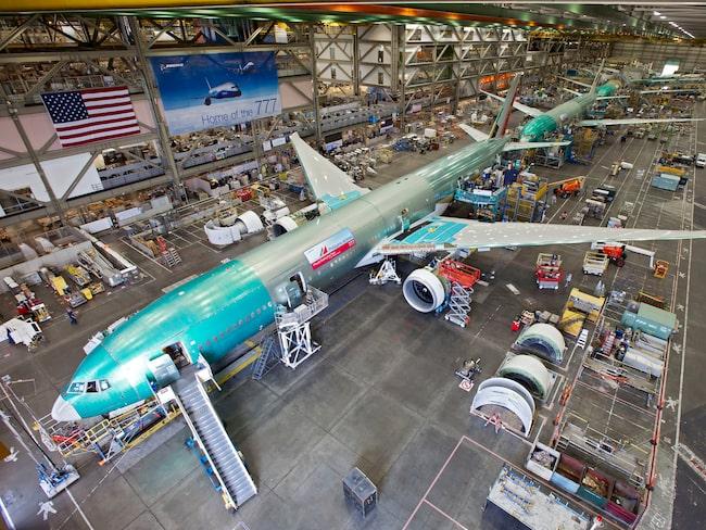 Boeings nya 777X ska bli världens största tvåmotoriga flygplan.