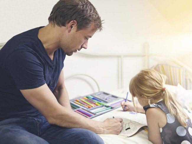 <span>Kanske haka på barnen nästa gång? Annars finns speciella målarböcker för vuxna.</span>