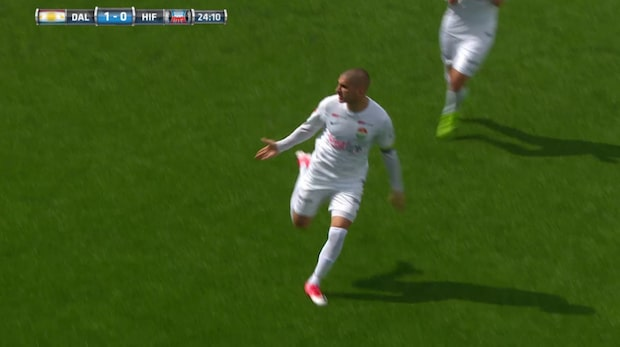 Highlights: Dalkurd-Helsingborg: 5-0