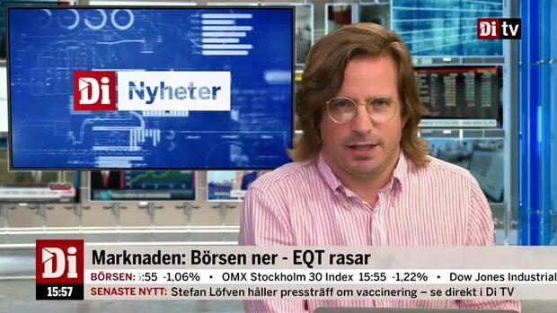 Di Nyheter: Börsen ner - EQT rasar