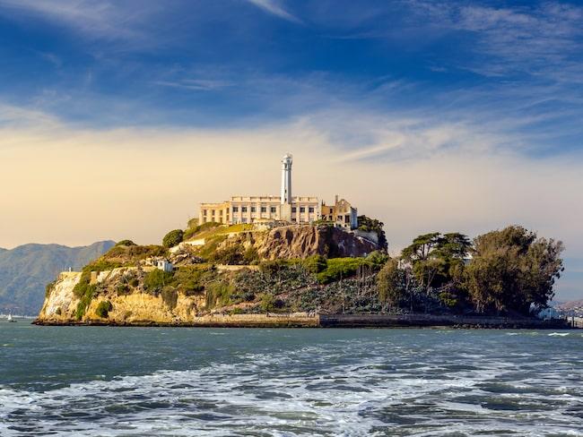 Den berömda fängelseön Alcatraz tjuvhöll på en hemlighet.