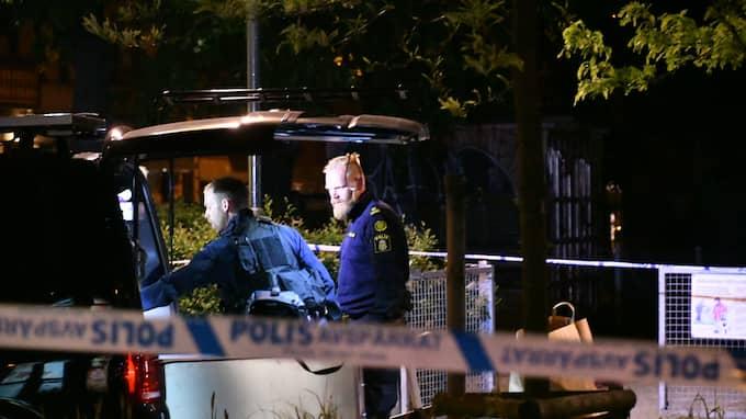 Mannen är utvisad – två gånger. I fredags häktades han för ett mord i Malmö i maj. Foto: / MIKAEL NILSSON