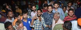 Många döda efter  tågolycka i Indien