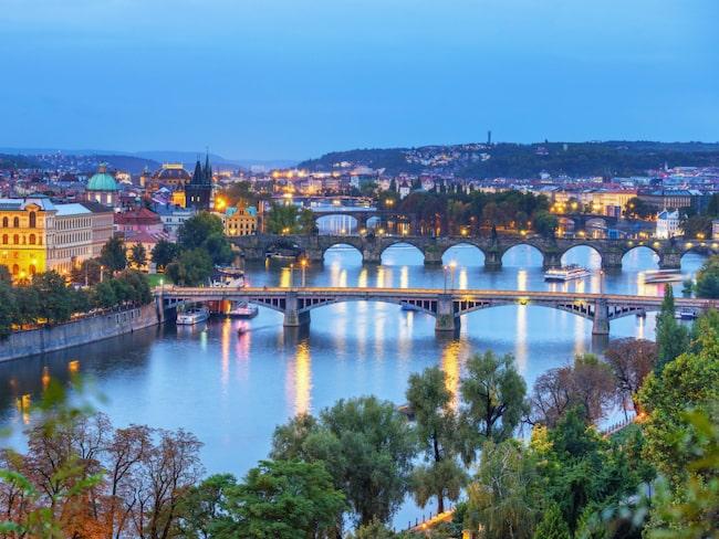 Prag är vinterns weekendraket. Svenskarnas bokningar till staden har ökat med hela 81 procent.