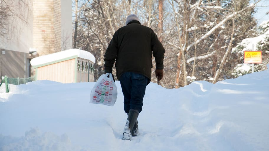 De senaste dagarna har södra Sverige drabbats hårt av snöfall