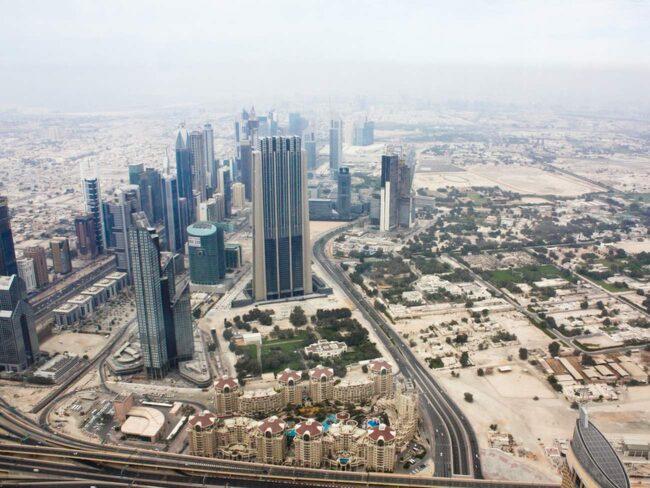 <span>Upplev Dubais ökenhetta.</span>
