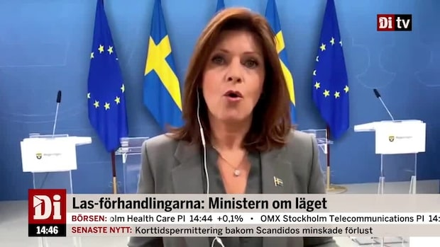 Las-förhandlingarna: Ministern om läget