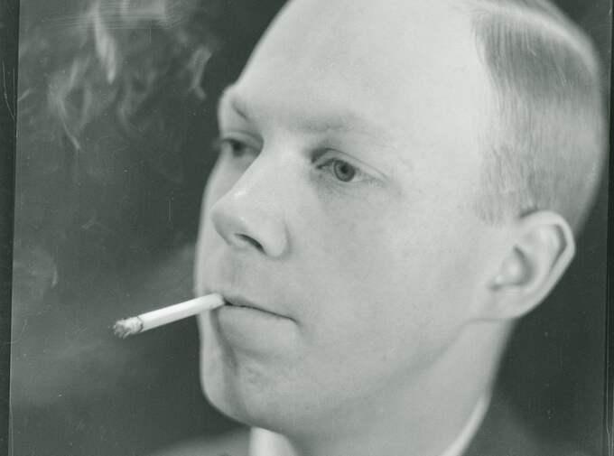Enligt Svedjedal trampade diktarfursten Gunnar Ekelöf hänsynslöst på tidigare vänner. Foto: Anna Riwkin-Brick