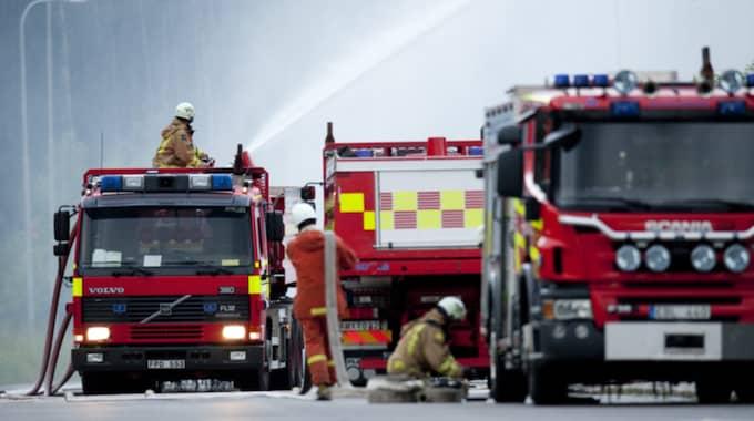 Räddningstjänst. I övrigt har bilden inget med texten att göra. Foto: Pontus Lundahl / Tt