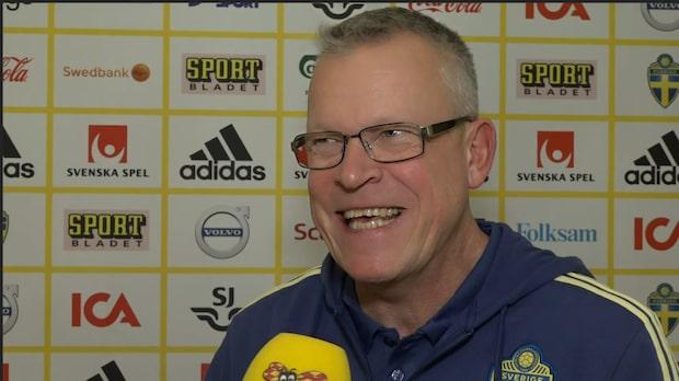 Janne Andersson försvarar Lindelöf efter kritiken