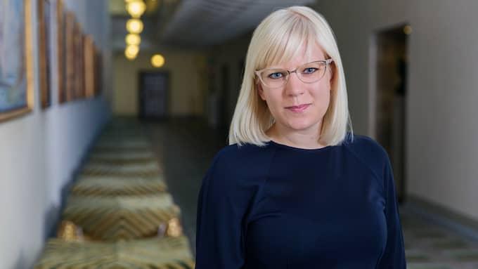 Karin Ernlund är gruppledare för Centerpartiet i Stockholm. Foto: JOANNA PELIROCHA