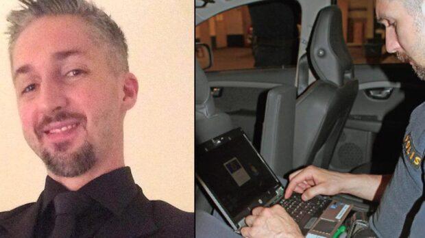 Polis död efter jakt på rånare