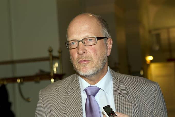 Sven-Erik Österberg, som nyligen utsågs till landshövding i Stockholms län, leder Finansinspektionens styrelse. Foto: ROGER VIKSTRÖM