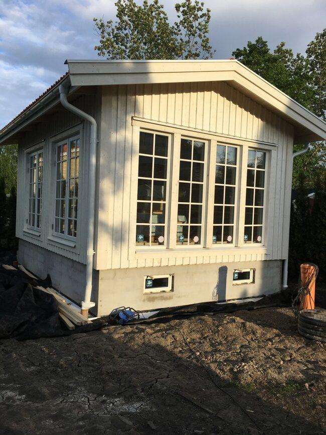 Blocket Hyr lyxig compact living minivilla Leva& bo