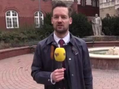 Här är Kent Ekeroths nya liv - i Budapest