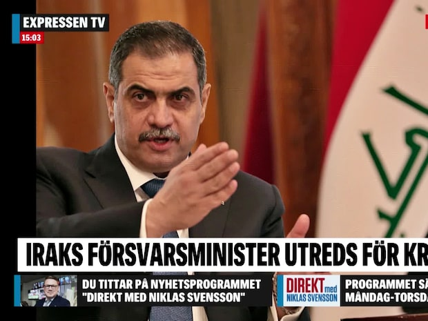 Försvarsministern anklagad för hot och våld i Sverige