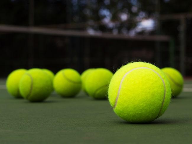 ...nämligen en tennisboll. Den är enkel att massera ömma kroppsdelar med.